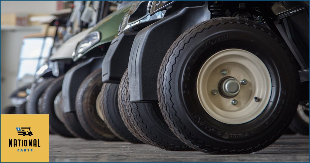 How to Care for Golf Car Tires - National Carts