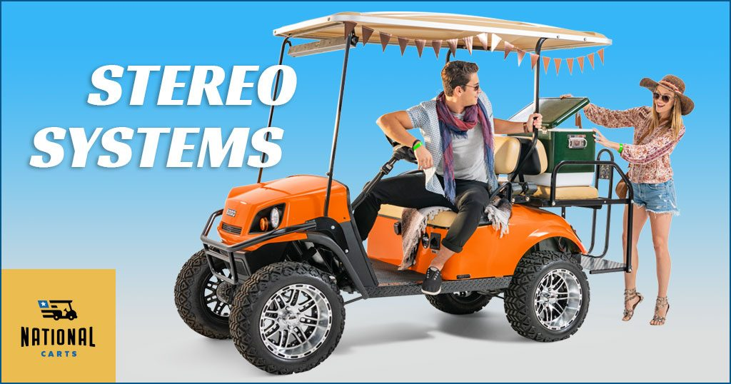 Golf Car Stereo Systems - National Carts
