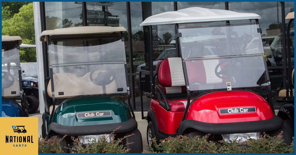 Golf Car Buying Guide: Windshields