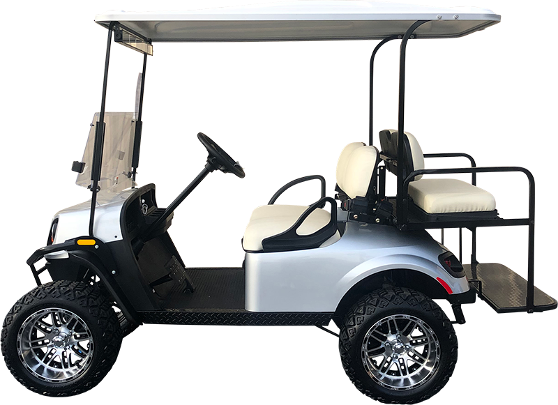 2018 EZGO TXT Platinum Lifted Electric Certified Pre-Owned (2015)