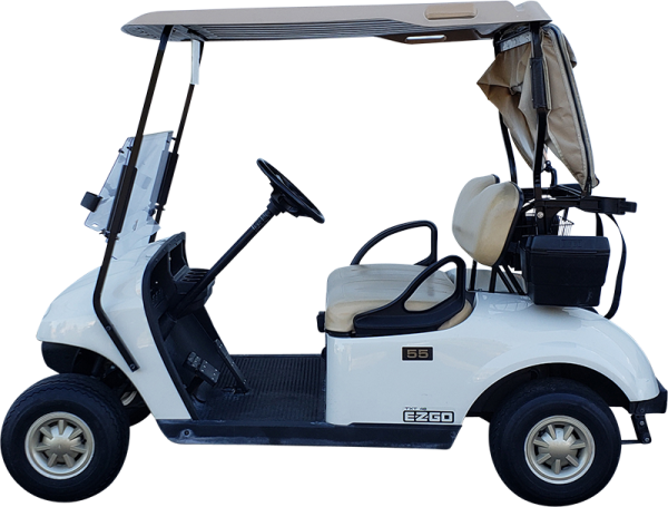 2015 EZGO TXT White Electric