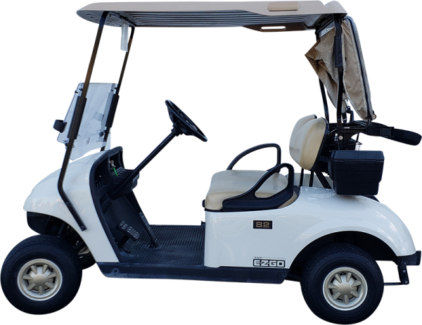 2015 EZGO TXT White Gas