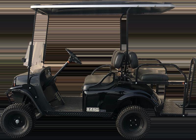 2017 EZGO Express S4 Black Gas