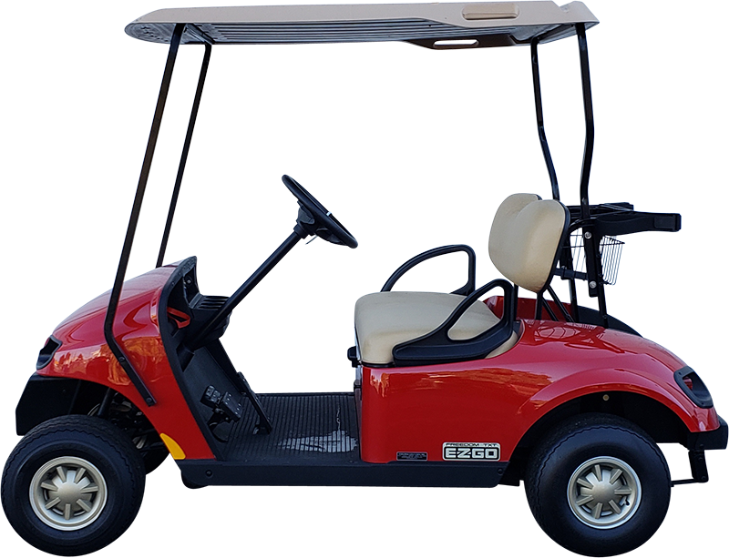 2018 EZGO TXT Red Gas