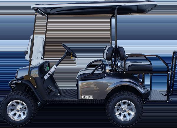 2019 EZGO Express S4 Metallic Charcoal Electric