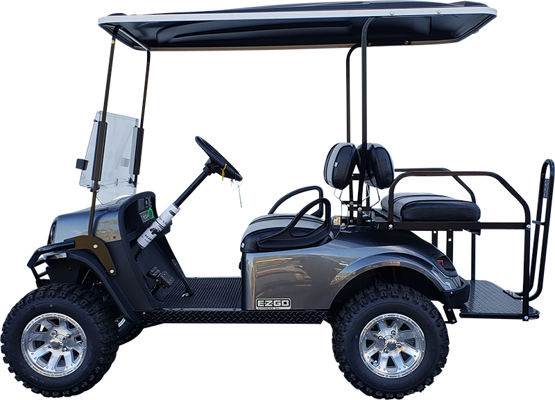 2019 EZGO Express S4 Metallic Charcoal Electric