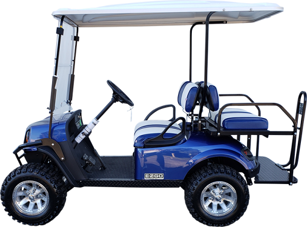 2019 EZGO Express S4 Electric Blue Electric