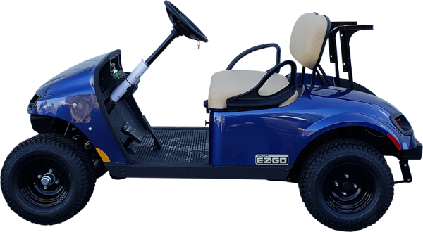 2019 EZGO TXT Electric Blue Valor Gas