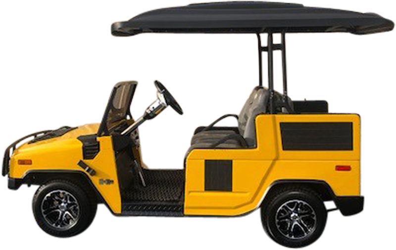2003 Club Car DS Yellow Electric
