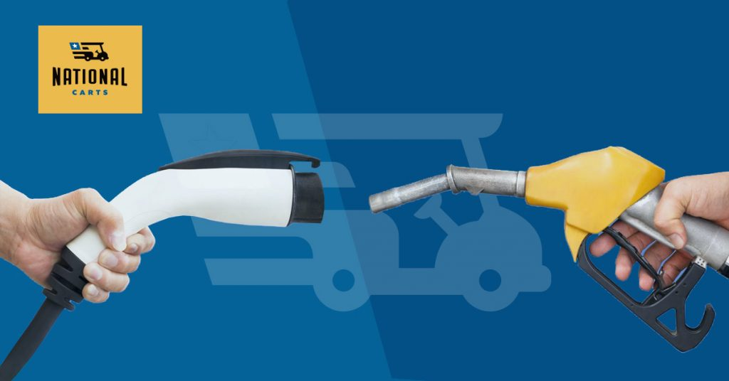 Buying Guide: Gas vs Electric Carts | National Carts